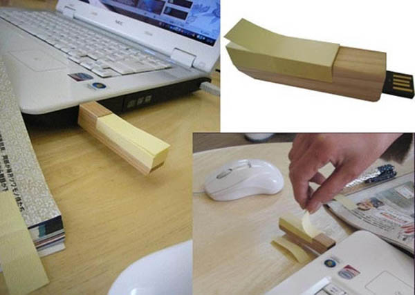 Wooden Post USB