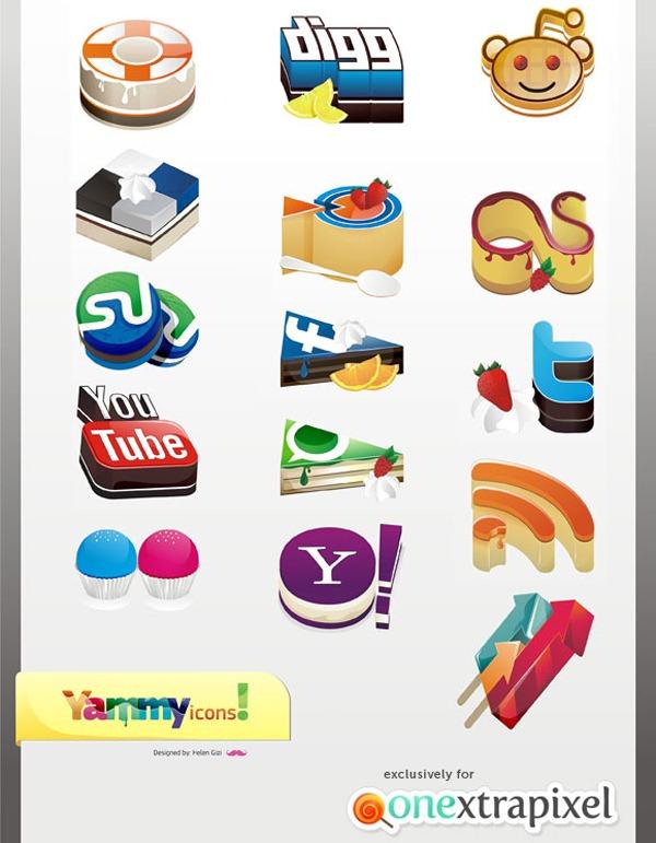 yummy-social-media-icons