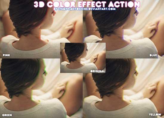 3D Color effect ATN