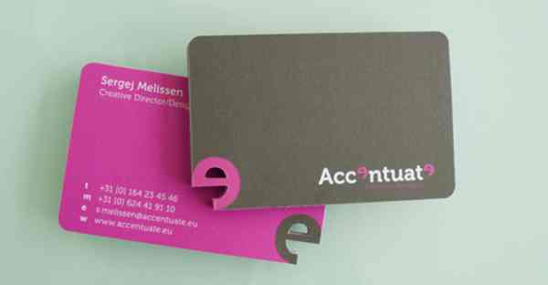 Accentuate's Business Cards