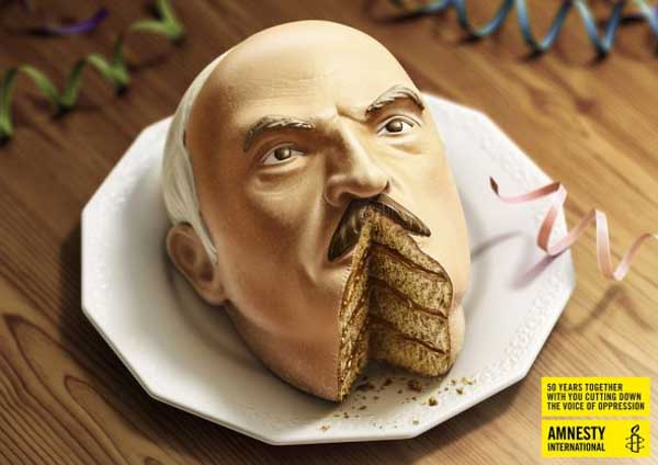 Amnesty International - Lukashenko