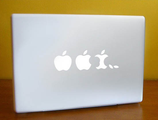 Apple Evolution MacBook Sticker