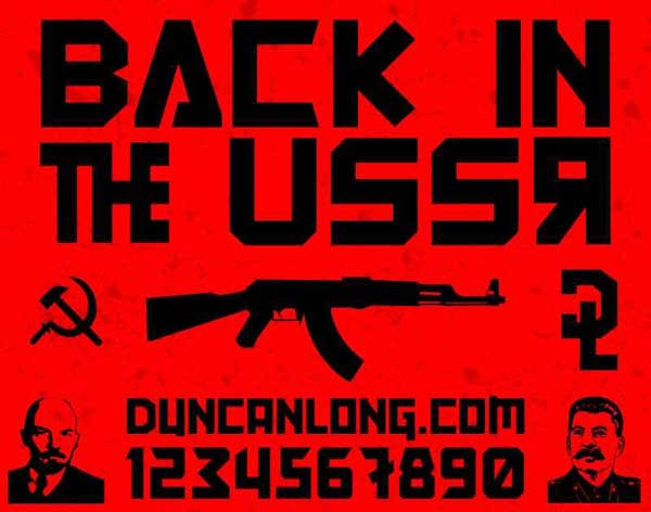 Back In The USSR DL by Duncan Long