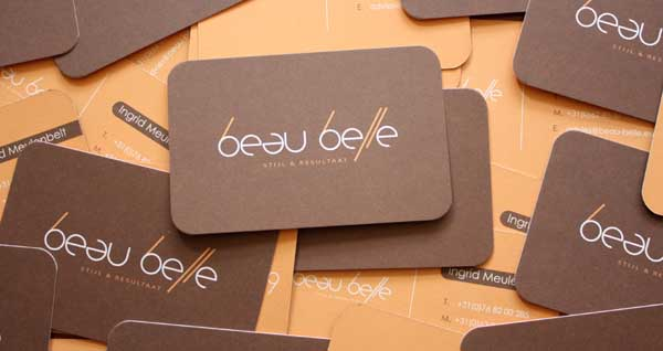 Beau Belle Business cards