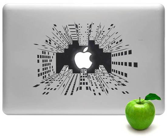 Big City Nights MacBook Decal-Sticker