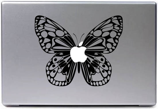 Butterfly MacBook Decal Sticker