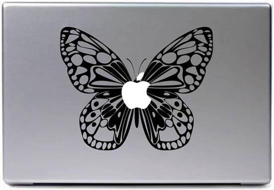 Butterfly MacBook Decal Sticker