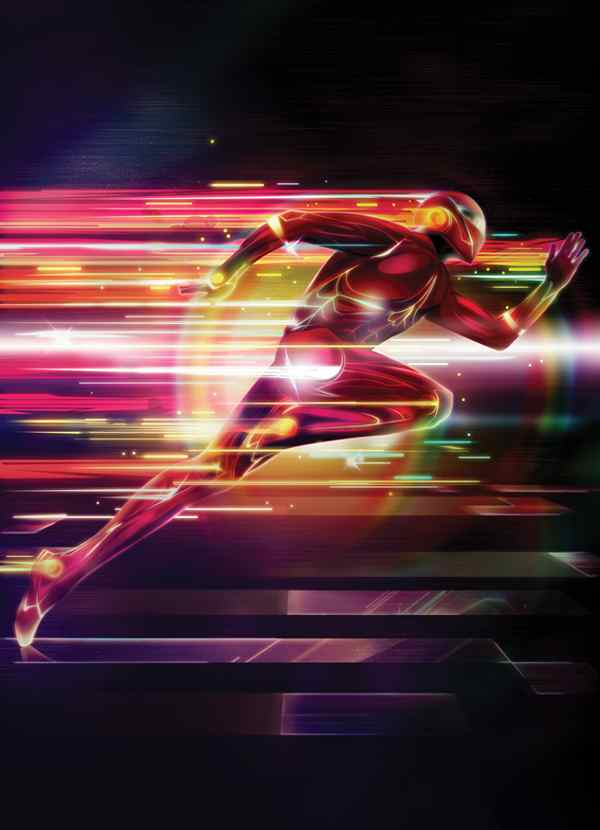 Create A Glowing Superhero Using Photoshop