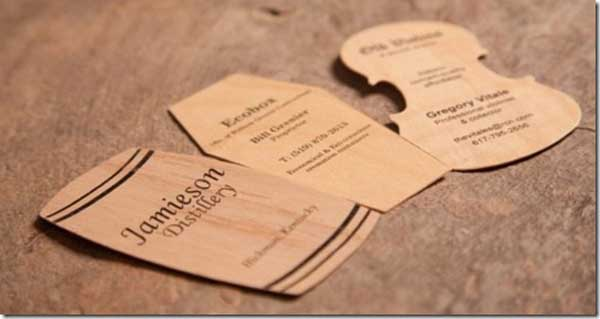 Cards of Wood