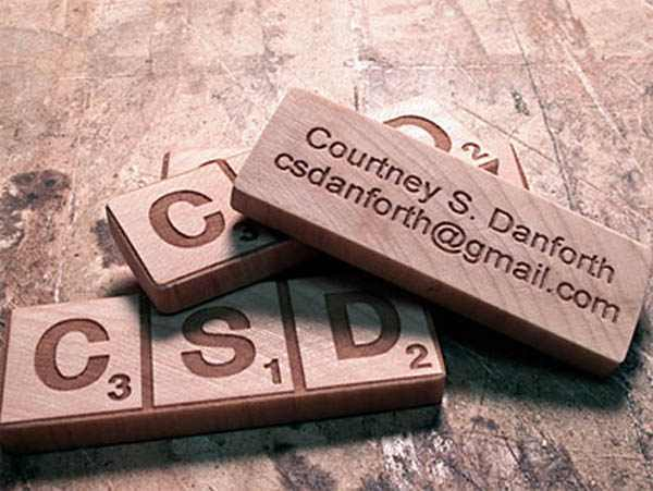 Courtney Danforth Business Card
