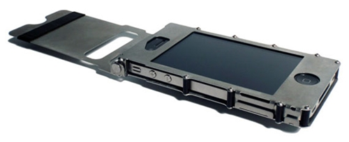 Super Protective Steel iPhone Case