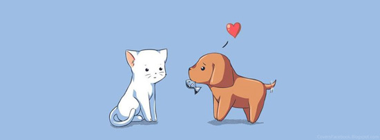 Cute Animal Love1 50 Adet Facebook Kapak Resmi