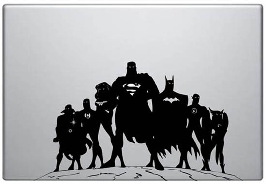 DC Comics MacBook Decal Sticker