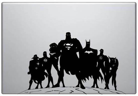 DC Comics MacBook Decal Sticker