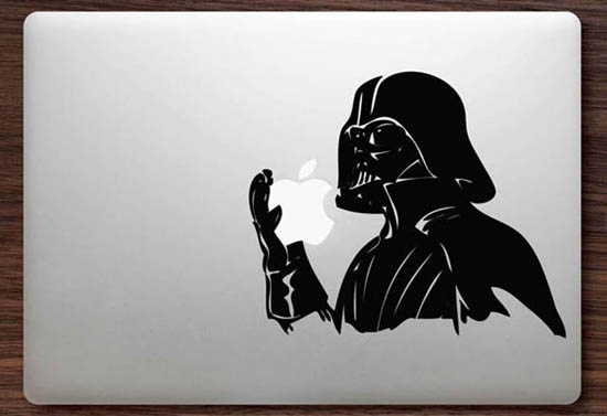 Darth Vader MacBook Decal Sticker