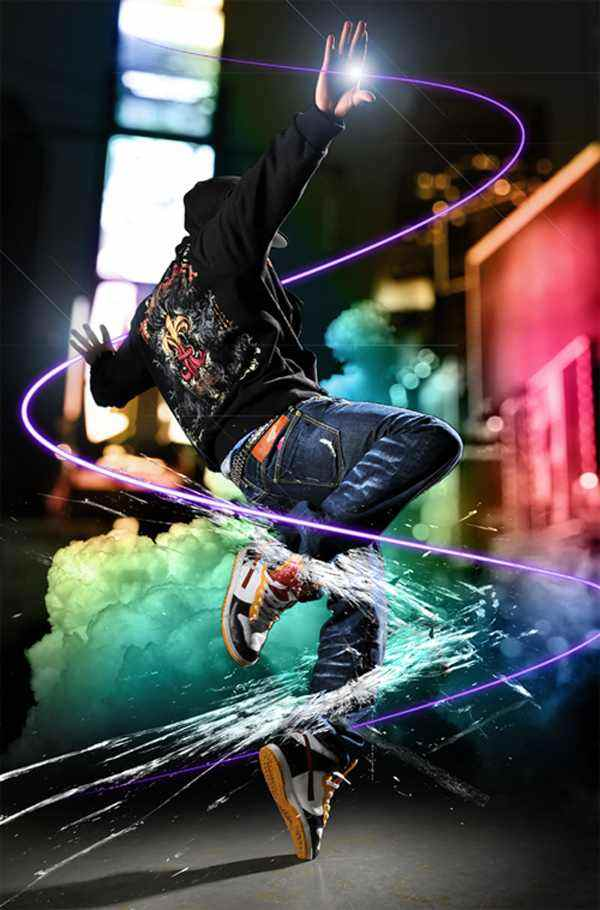 Create Dazzling Dance Photo Manipulation Using Photoshop