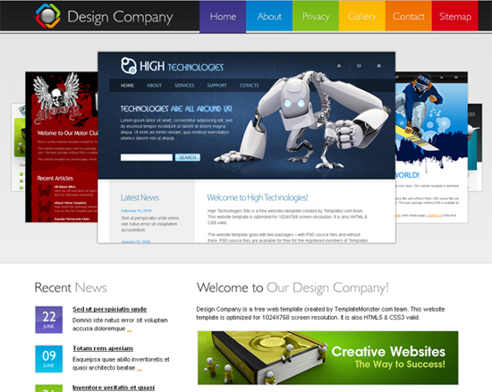 Design Company Website