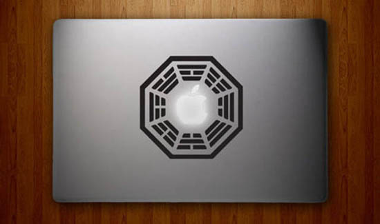 Dharma Initiative MacBook Decal Sticker