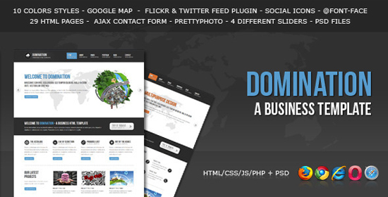 Domination - a Business HTML Template