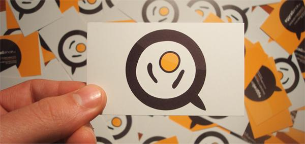Eggcellence - Business card