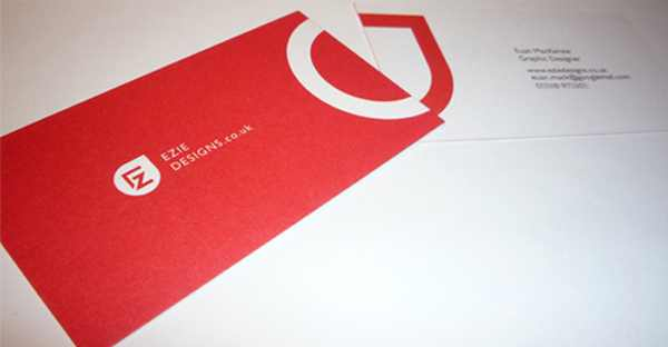 Ezie Designs Business Cards