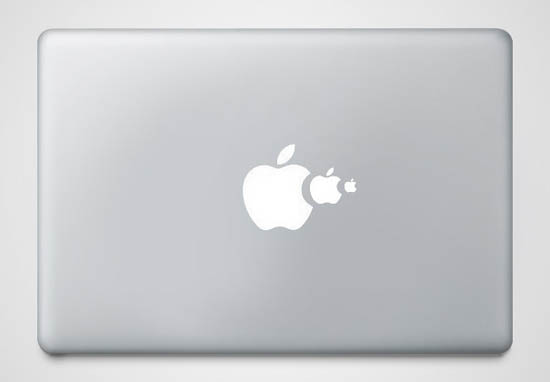 Food Chain MacBook Sticker