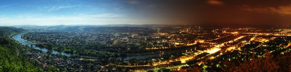 From Day to Night Panorama by 55 Laney69