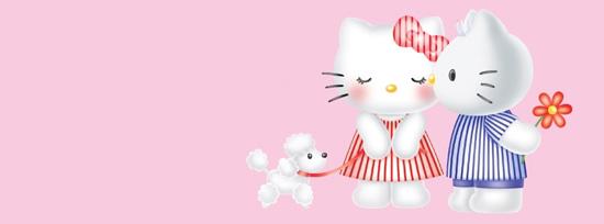 Girly Hello Kitty