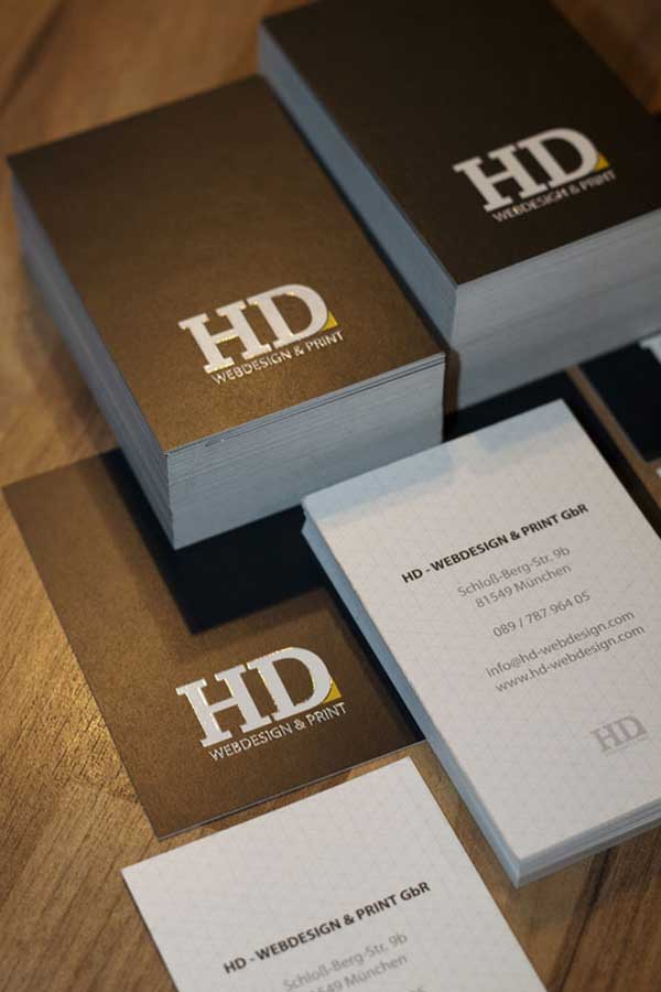 HD Business Card