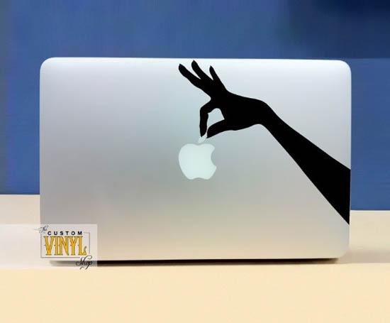 Hand Holding Apple