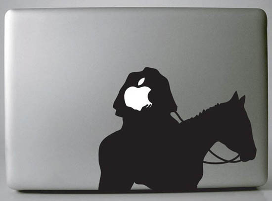 Headless Horseman MacBook Decal Sticker