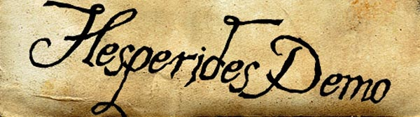 Hesperides by The Scriptorium