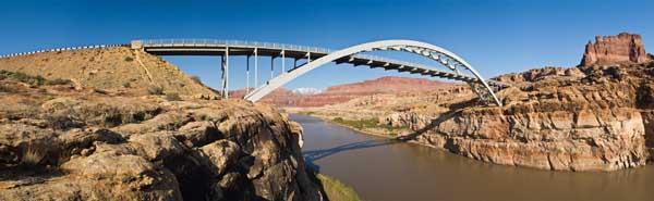 Hite Crossing Bridge by Christian Mehlfuhrer