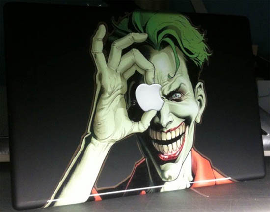 Joker MacBook Decal Sticker