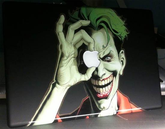 Joker MacBook Decal Sticker
