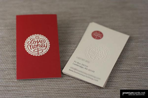 Love Money Business Card