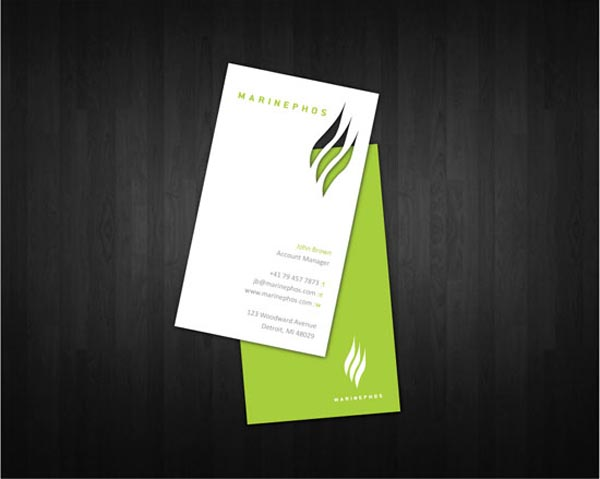 Marinephos Business Card