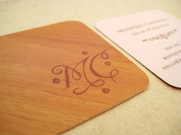 Monique Cardenas Business Card