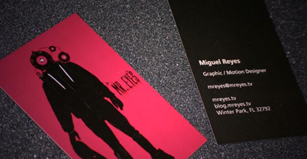 Mr. Eyes Business Card