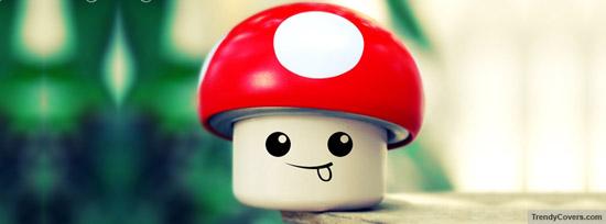 Mushroom Smiley 50 Adet Facebook Kapak Resmi