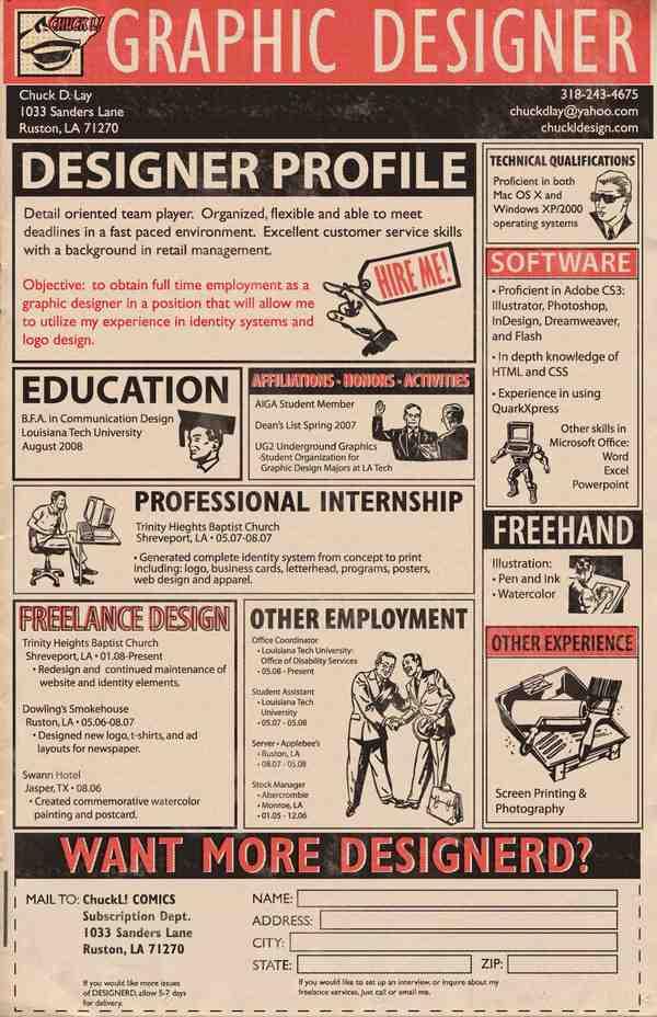 My Resume by ChuckDLay