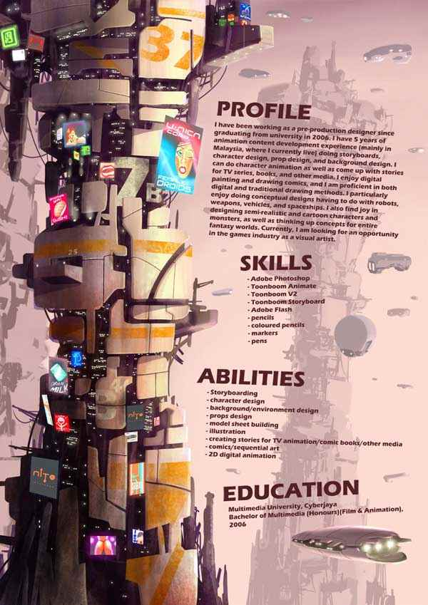 My Resume pg02 by Joulester