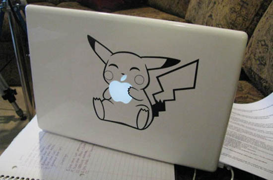 Pikachu MacBook Decal Sticker
