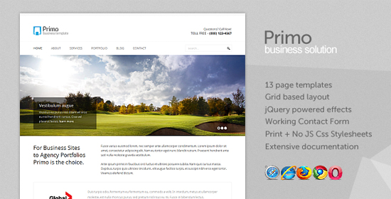 Primo - Business Corporate xHTML Template