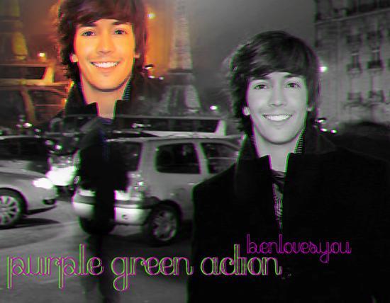 Purple_Green_3D_Action_by_benlovesyou
