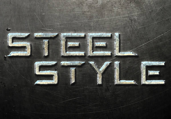 Quick Tip Create a Steel Text Effect in Photoshop