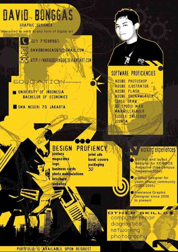 Resume Ver 1 2008 Urban Art by Marauderx666