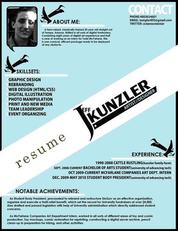 Resume by Jeevesmeister