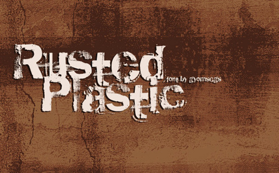 Rusted Plastic
