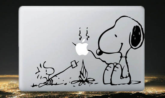 Snoopy MacBook Decal Sticker